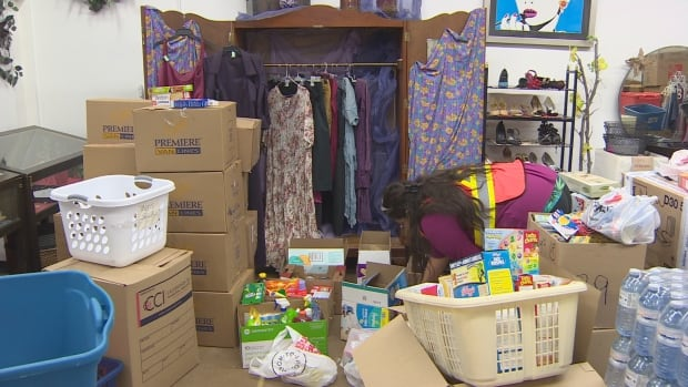 Food and clothing donations