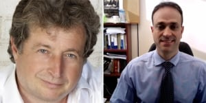 Gilles Toupin and Joel-Denis Bellavance