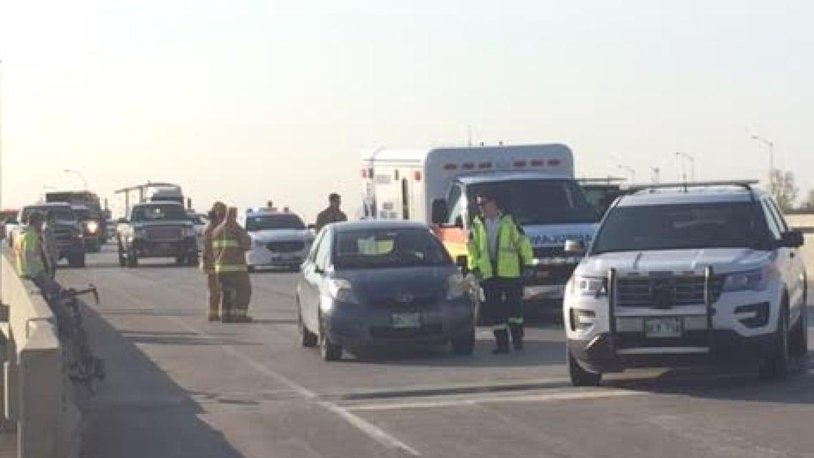 Cyclist Hit By Car On Trans Canada Highway East Of Winnipeg Cbc Ca Winnipeg News Newslocker