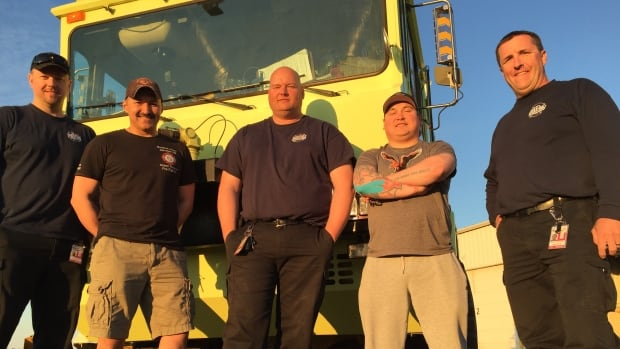 Iqaluit firefighters train in Thunder Bay