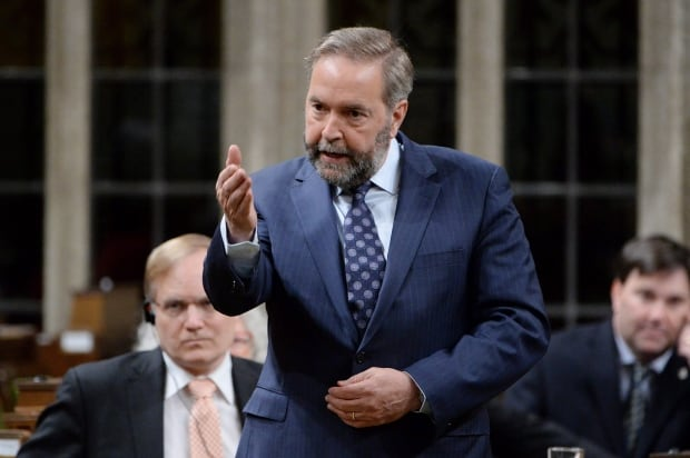 Mulcair on Trudeau conduct apology