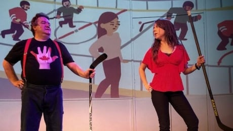 God Is A Canuck And Tries To Wipe Out Hockey In 'Hockey, The Musical!'