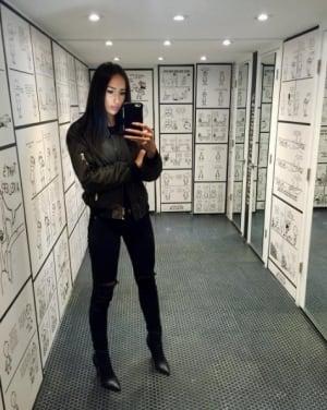 The Doomie's vegan selfie room