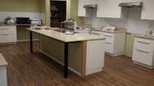 The new kitchen in the Equality Project's building