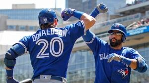 Bautista, Donaldson lead Blue Jays past Twins in series finale