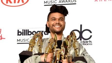 The Weeknd wins 8 Billboard awards, Celine Dion gives emotional speech