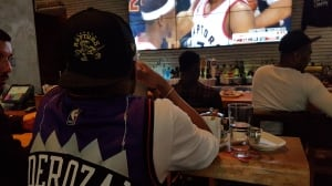 Vancouver basketball fans throw support behind Toronto Raptors