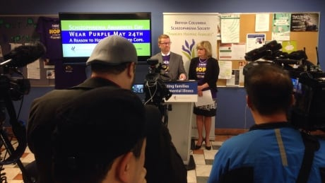 Province announces extra funding for schizophrenia