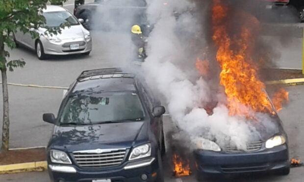 Car fire