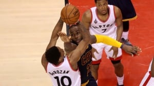 Toronto Raptors off to slow start in pivotal Game 5 as Cavaliers take early lead
