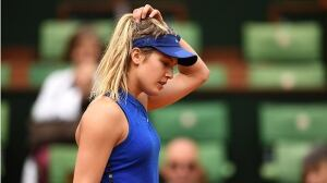 Eugenie Bouchard eliminated from French Open
