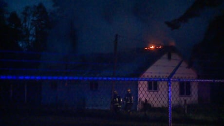 Langley fire crews battle 2-alarm blaze at house in rural area