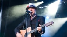 Gord Downie of the Tragicaally Hip performs in Charlottetown