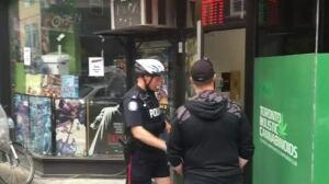 Toronto police execute search warrants at Kensington pot shops