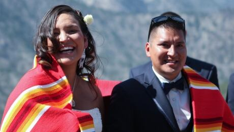 First Nations couple hosts rare Nlaka'pamux traditional wedding
