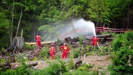 Crews prepare for wildfire season on North Shore