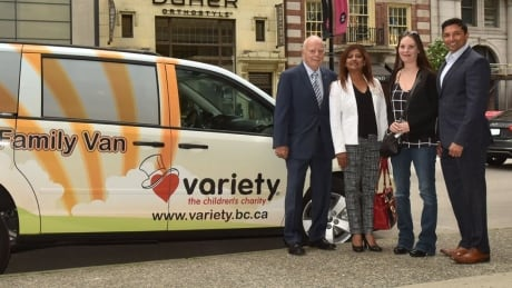 Accessible van changes Surrey family's life