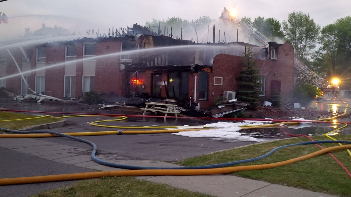 Close To 100 Students Escape Fire At Ontario Hockey
