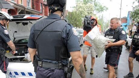 Toronto Police marijuana shop raids