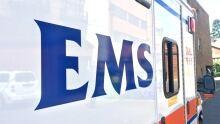 Calgary 6155 ems paramedics ambulance