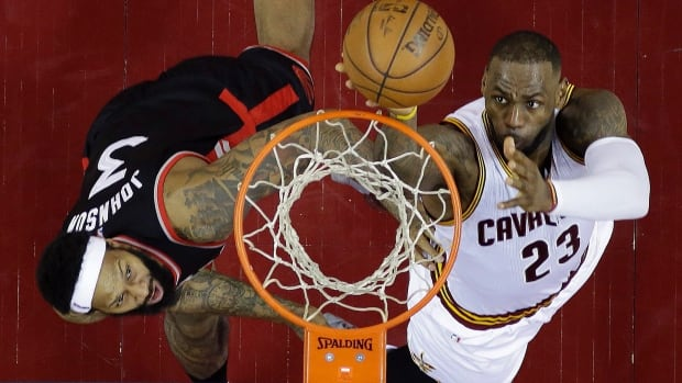Raptors push for 3rd home court victory against Cavaliers ...