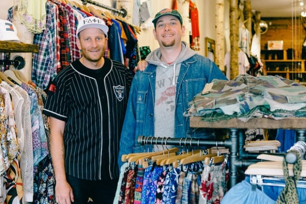 Vintage clothing stores in vancouver