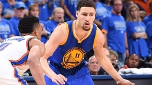 Klay Thompson's record-setting night helps Warriors force Game 7