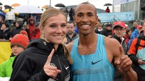 Canadians Brianne Theisen-Eaton, Damian Warner win at Hypo Meeting