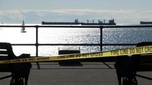 Hazmat team responds to spilled mercury in English Bay