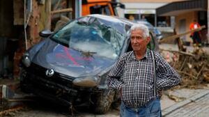Braunsbach GERMANY-FLOODING damage May 30 2016