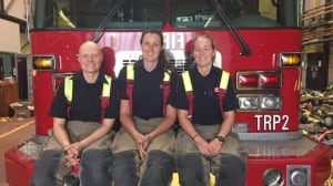 Three women are the top three graduates at Toronto Fire