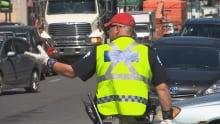 Traffic cop montreal