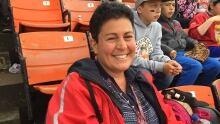 Nina Morrow Thunder Bay hockey fan