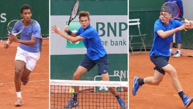 Next Generation Of Canadian Tennis On Display At French