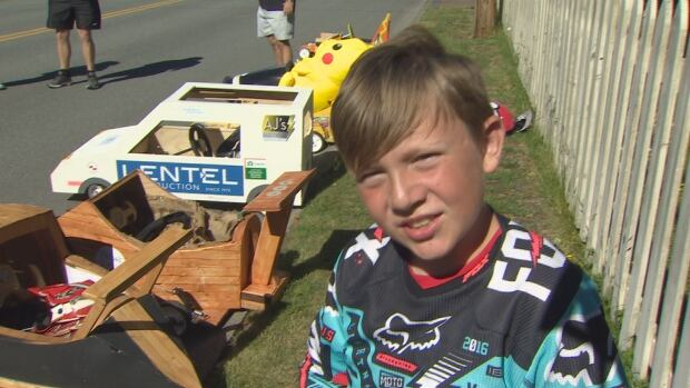 Teagan Douglas Soap Box Racer