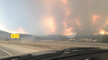 Fire burning around Fort McMurray water treatment plant 1