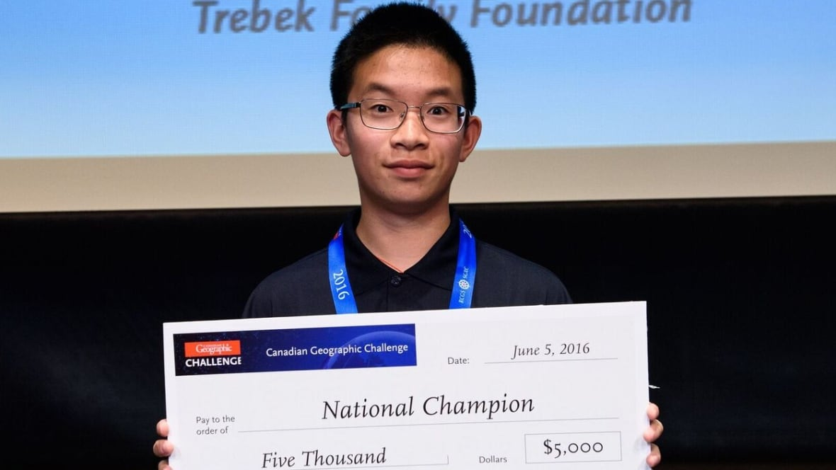Calgary Teen Wins Big At National Geography Competition