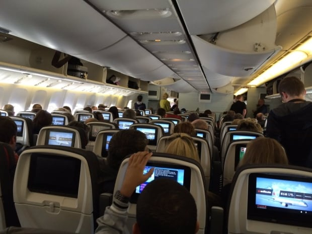Air Canada Paris to Toronto