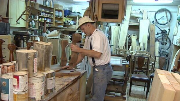 N S Furniture Maker Prepares For Luxury Expo In Abu Dhabi Nova Scotia Cbc News