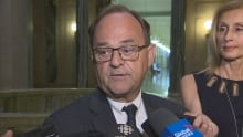 Saskatchewan environment minister Herb Cox