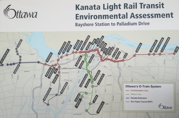 Kanata LRT extension Environmental assessment