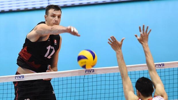 Gavin Schmitt, Canadian volleyball team, enjoying Olympic spotlight