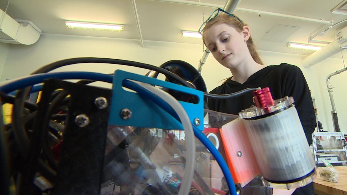 Bedford high school NASA-bound with Cygnus the robot - CBC.ca