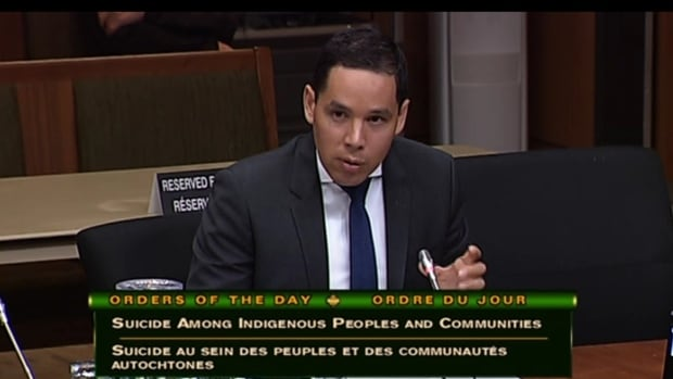 'I do not believe that it is respectful for the government to prescribe solutions for Indigenous peoples when it comes to suicide,' Natan Obed, president of Inuit Tapiriit Kanatami, told parliamentarians Tuesday.