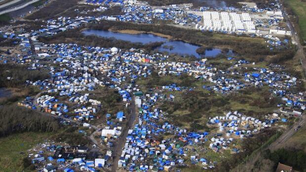 Calais Refuge Camp