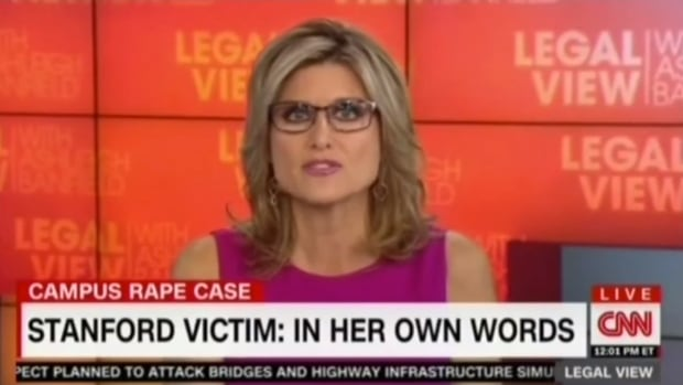 Ashleigh Banfield Screenshot Stanford- CNN
