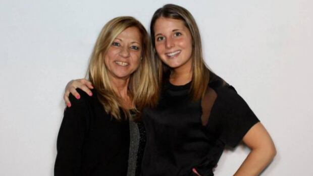 Christiane Vadnais, left, died Wednesday after she was attacked by what police described as a pit bull. An autopsy is expected to take place next week.