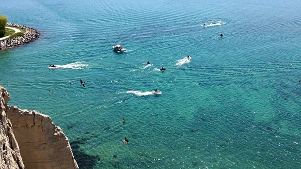 Two boaters left Bluffer's Park Marina together on Sunday morning but didn't return at lunch as planned.