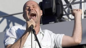 Gord Downie, lead singer for The Tragically Hip