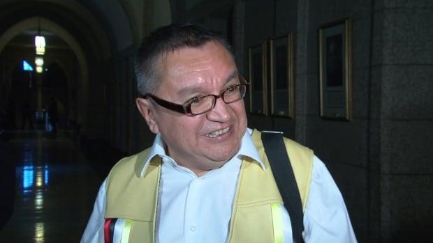 Bruce Shisheesh Attawapiskat Chief